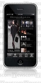 Donna Karan iPhone app now at App Store