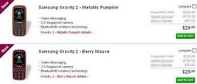 T-Mobile Samsung Gravity 2 now available