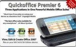 Quickoffice Availability Update: covers Nokia Symbian S60 devices