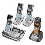 Uniden TRU9585-4WX-R Expandable Cordless System with Digital Answering Machine