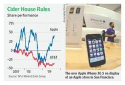 Will AT&T users stay around or choose Verizon with iPhone-like phone?