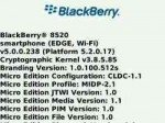 BlackBerry Curve 8520 unofficial OS 5.0.0.238 available