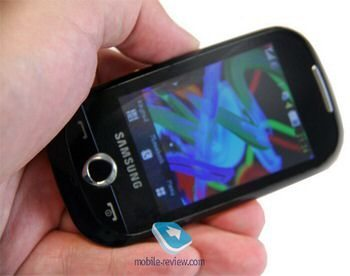 Quick preview of the Samsung Corby S3650
