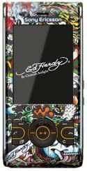 Sony Ericsson W595 Ed Hardy Exclusive Edition on sale