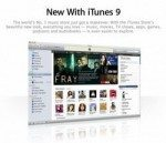 Apple iTunes 9 shows a new makeover, do you like it?