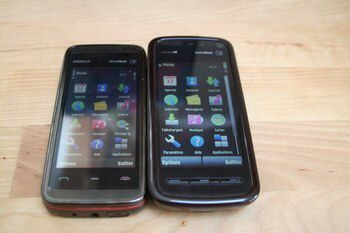 Nokia 5800 and 5530 in photo comparison fight off