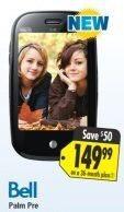 Save Money: Palm Pre price drop via Best Buy