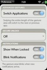 LED notifications and remote app removal found in webOS 1.2