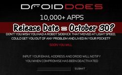 Verizon Droid phone does have release date of October 30