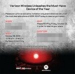 Verizon Droid Event happening on 28th October