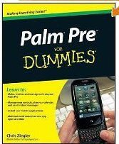 Palm Pre for Dummies Tuition manual available