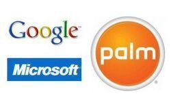 Palm, Google and Microsoft further efforts in Smartphone market