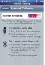 AT&T Will Not roll out iPhone tethering until 2010
