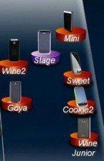 New LG Phones: Wine Junior, Wine 2, Stage, Mini, Goya, Cookie2 and Sweet