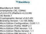 Unofficial OS 5.0.0.273 available for BlackBerry Tour 9630
