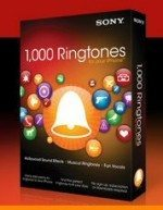 1000 Ringtones DVD comes with iPhone rigntones from Sony Creative Software
