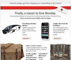 Apple Cyber Monday Specials 2009: