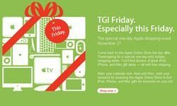 Apple TGI Black Friday Deals: One day shopping special