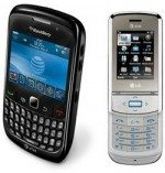 LG Shine 2 and BlackBerry Curve 8520 heading for AT&T