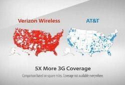 Big Blue AT&T Sues Big Red Verizon over ad campaign