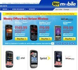 Best Buy Cyber Monday 2009 Cell Phone Deals