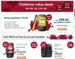 Carphone Warehouse Cyber Monday 2009 Mobile Phone Christmas Deals