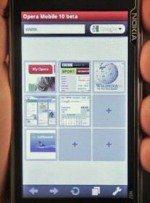 Video: Nokia N97 Demos Opera Mobile 10 Beta