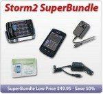 BlackBerry Storm 2 SuperBundle Accessory Deal
