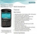 US Cellular now offer the BlackBerry Tour 9630
