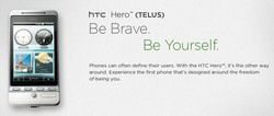 GSM HTC Hero now offered by Telus