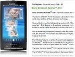 Sony Ericsson XPERIA X10 to Launch in February in UK
