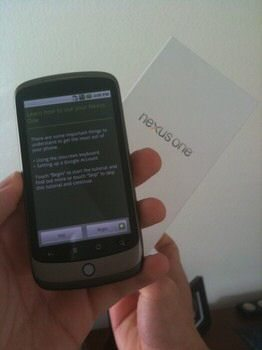 Google Nexus One gets snapped again