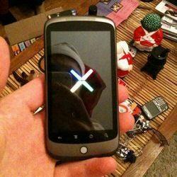 Google Nexus One has 5 Pane Home Screen like Sense