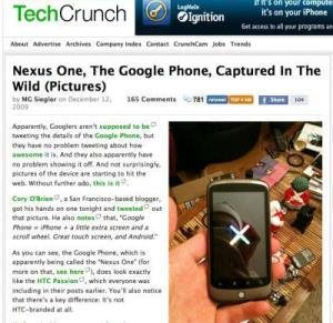 Nexus One not a VoiP only phone
