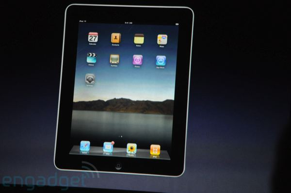 Apple Event 2010 Live: Official name is iPad, acts like iPhone