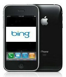 iPhone to Ditch Google for Bing?