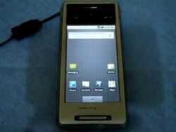 Video: Sony Ericsson XPERIA X1 Running Android 2.0.1