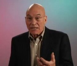 Video: Patrick Stewart Loves his iPhone but not Twitter
