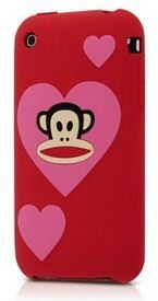 Valentines Day Paul Frank iPhone 3GS Case