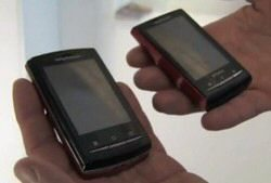 MWC 2010 Video: Hands-on with Sony Ericsson X10 Mini and Pro