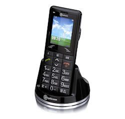 Amplicom PowerTel M6000 Mobile Phone, perfect for seniors