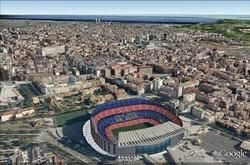 Google Earth Update: Mulhouse, France and Barcelona and South Africa buildings