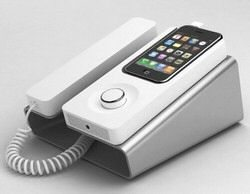 Desk Phone Dock for iPhone Makes Debut Next Month