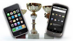 iPhone OS Dominates but Android OS is Chasing
