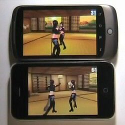 Video: iPhone 3GS vs. Nexus One 3D Performance Face Off