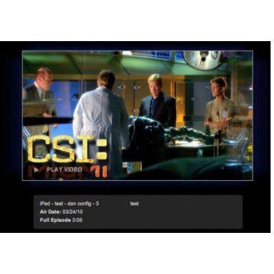 No Flash on iPhone or iPad, HTML5 Video via CBS.com
