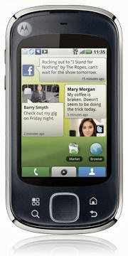 Motorola Quench launch for Rogers in Canada