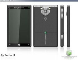 New Sony Ericsson Auron 10MP Camera, HD Video concept
