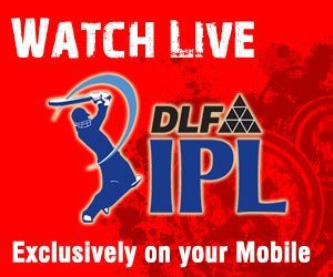 Watch IPL 2010 Live Cricket on Youtube via Mobile Phone