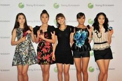 Sony Ericsson Officially Announce Wonder Girls Modelling Contract